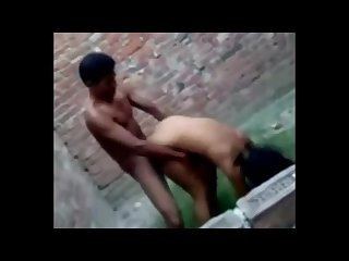 Indian college students fuck in public
