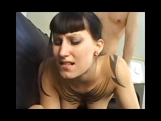 Gothic punkgirl bellaerotica gets banged by a big cock