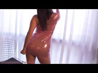 Sunnyleone my classy short pink dress