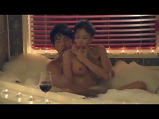 korean softcore collection romantic korea couple bubble bath sex scene