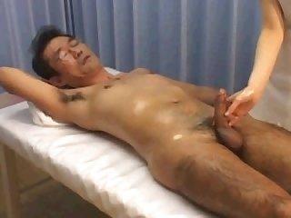 Daddy hand job straight porn