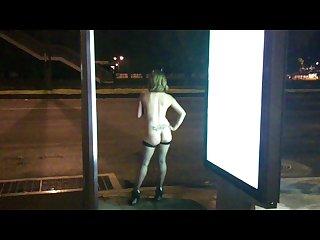 Exhibicionismo en la calle