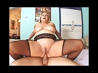 Lovely bbw milf anal fucked