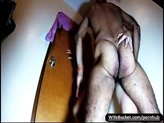 A hairy mature wife fucked good by her bear husband