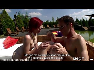Hotgold kinky threesome with rocco
