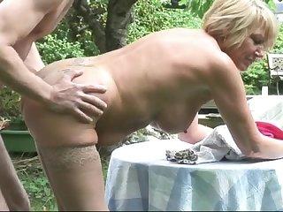 British blonde milf gilf amy strips and fucks