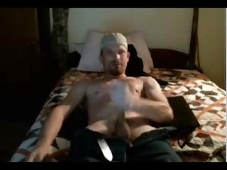 Love big cock str8 rednecks watch him bust a hot nut