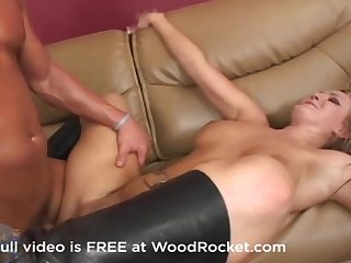 Big ass milf fucks swallows cum