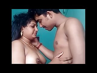 Indian hasband and wife live
