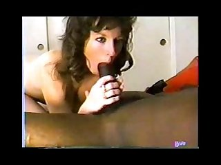 Classic interracial hot brunette gets a big black cock easttexasbull