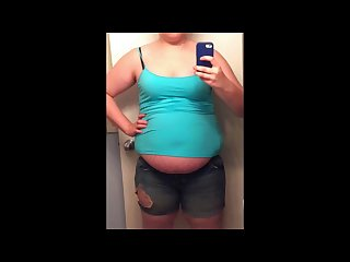 Obese teen shows off her 80 pounds college weight gain slideshow