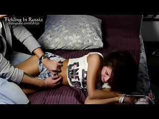 Russian clone of kate beckinsale sexy feet tickling