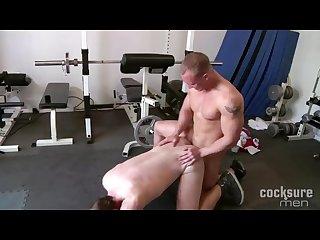 Hard trainer john magnum fucks Colby keller
