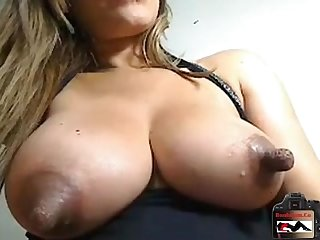 Huge nipples you have seen lactating see more at boobcam co