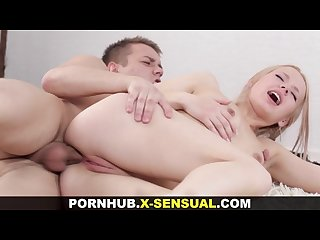X sensual sensual anal with a model
