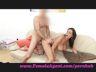 Femaleagent tit s made for cock