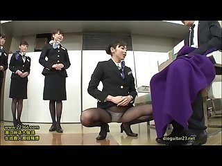 Just fun japanese stewardess training 3 15
