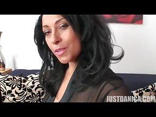 Danica collins black stocking joi