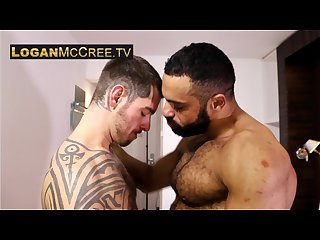 Jamil and logan mccree on www loganmccree tv