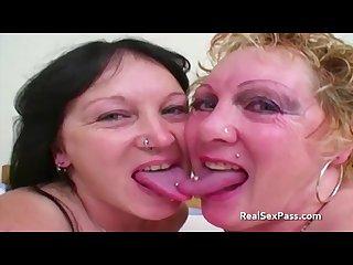 Old tattooed fat skanky lesbians