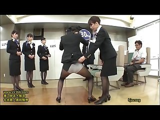 Just fun japanese stewardess training 1 15