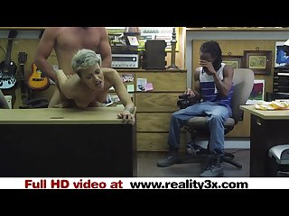 Real spycam sex fucking your hot girlfriend in my pawnshop reality3x com