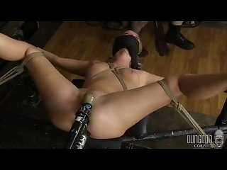 Pussy exposed bailey brooke dungeoncorpbdsm bodacious bratty in bondage