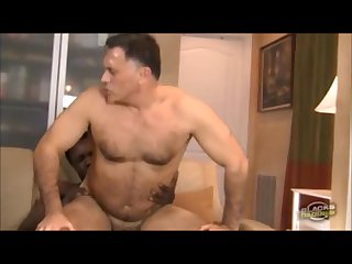 Mature not daddy and big black cock