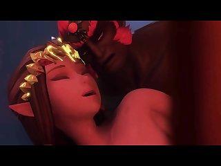 3d hentai legend of zelda link ganon