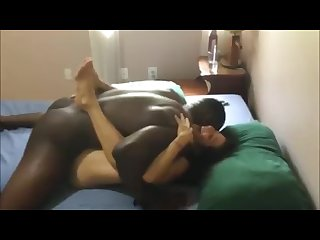 Bbc addicted Hotwife gets huge black creampie
