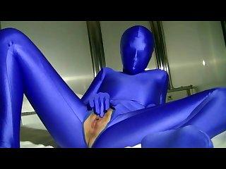 Blue Zentai
