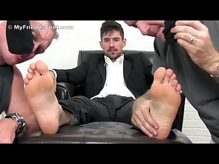 Slaves worship fiero s sweaty socks and feet pt 3