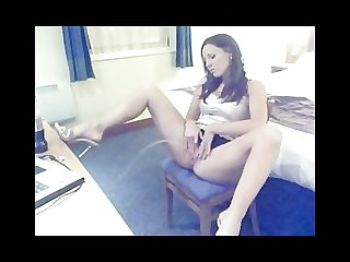 Pissing on webcam long version