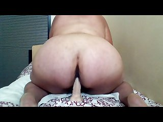 Bbw loves to ride