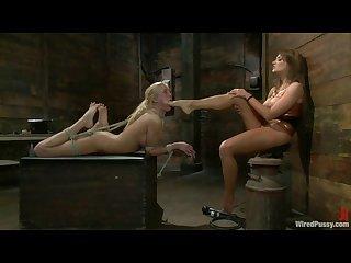 Lesbian foot domination wp