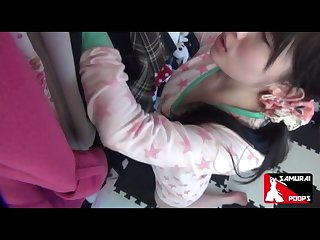 Uncensored jap girl Farting