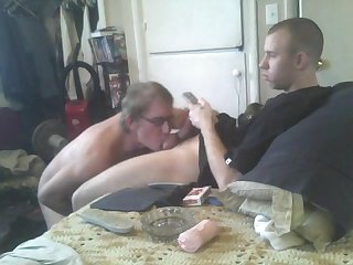 Sucking hetero married cock