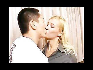 Amwf julie silver interracial with asian guy