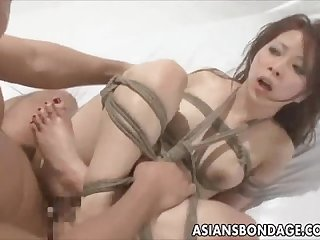 Tied and fucked hard