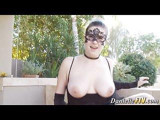 Naturally busty pornstar