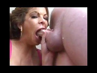 Wow this girl sucks a cock