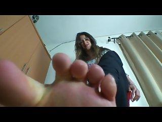 Foot slave pov