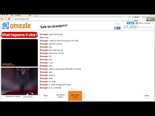 18 y O submissive on Omegle