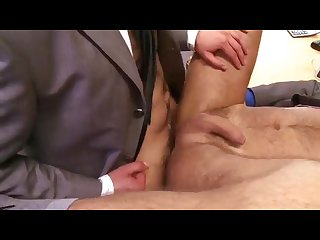 Younger secretary fucks big boss