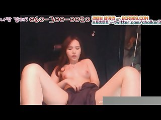 I think this Korean girl love to masturbate
