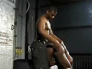 Solmon black spanking
