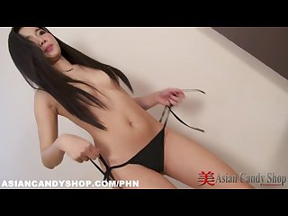 cute thai girl lita striptease