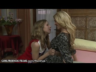 Girlfriendsfilms milf seduced by young cheerleader