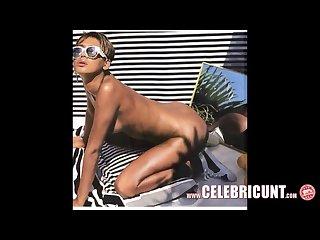 Nude black celeb rihanna exposing pierced nipples shaven cunt