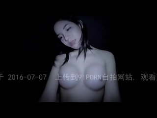 Multiracial Chinese girl in a fishnet so hot